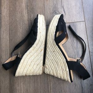 American Eagle Outfitters Shoes - AE Suede Wedges